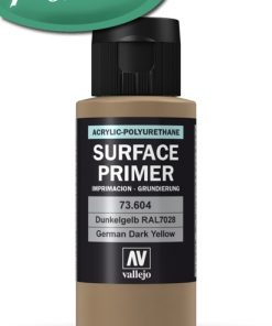 Surface Primer Imprimación (German Dark Yellow – Dunkelgelb) Vallejo RAL7028