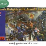 French Knights with assault ladders s.XV 1:72 MiniArt 72002