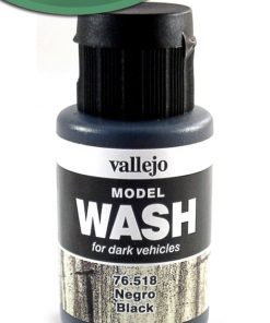 Model Wash Negro 35 ml. Vallejo 76518