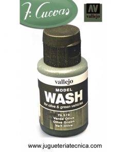 Model Wash Verde Oliva 35 ml. Vallejo 76519