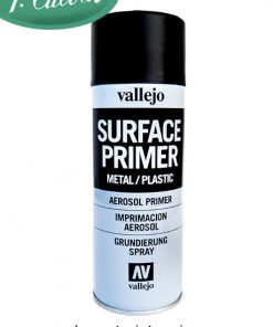 Spray Imprimación Negro 400 ml Vallejo 28012