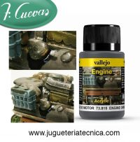 Suciedad de motor – Vallejo Weathering Effects 73815