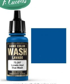 Lavado azul Wash 17 ml Vallejo 73207
