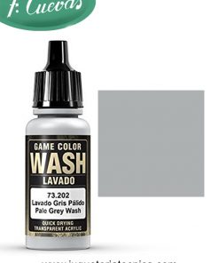 Lavado Gris Pálido Wash 17 ml Vallejo 73202
