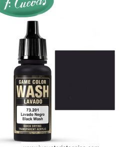 Lavado Negro Wash 17 ml Vallejo 73201