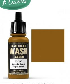 Lavado Sepia Wash 17 ml Vallejo 73200