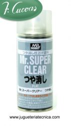 MSC Mr.Super Clear Flat (mate) 170 ml Mr.Hobby B-514