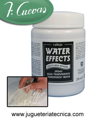 Water Effects - Agua Artificial Transparente 200 ml Vallejo 26201