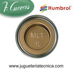 Humbrol 16 - Gold / Oro ( Metalizada ) 14 ml.