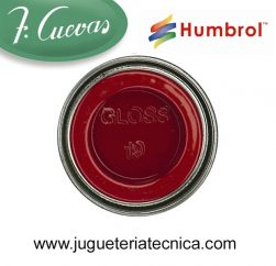Humbrol 19 - Red / Rojo ( Brillo ) 14 ml.