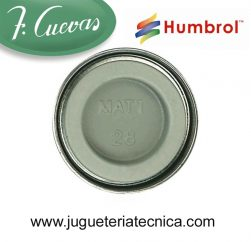 Humbrol 28 - Camouflage Grey / Gris Camuflaje ( Mate ) 14 ml.