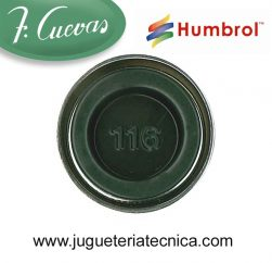 Humbrol 116 - US Dark Green / Verde Oscuro US ( Mate ) 14 ml.