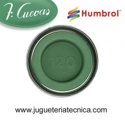 Humbrol 120 - Light Green / Verde Claro ( Mate ) 14 ml.