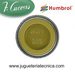 Humbrol 225 - Middle Stone / Piedra media ( Mate ) 14 ml.