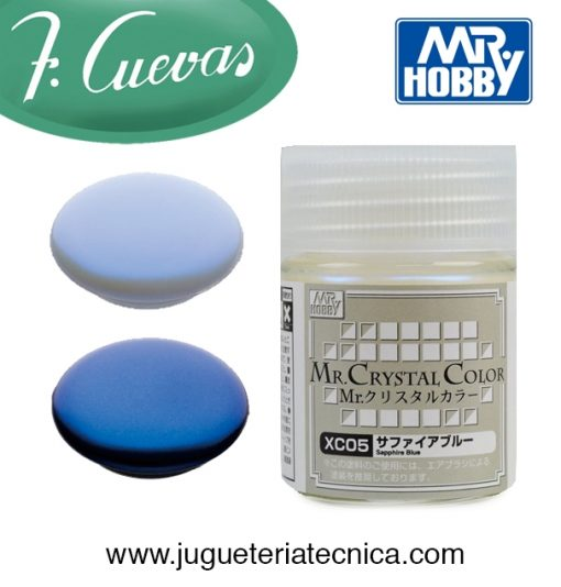 Mr.Crystal Color - Sapphire Blue XC05