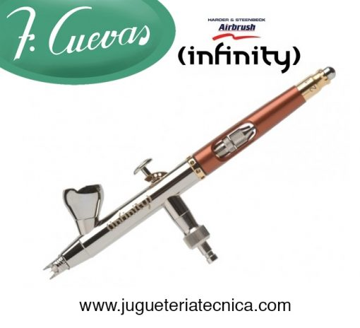 Aerógrafo Infinity SOLO de Harder and Steenbeck 126533