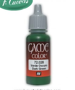 Verde Oscuro - Game Color 72028
